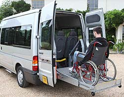 starline disabled wheelchair stretcher transport chichester portsmouth bognor. Black Bedroom Furniture Sets. Home Design Ideas